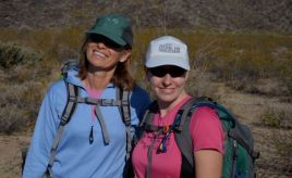 Cindy and Trish off to the Mountain