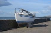 Boat at Galway Bay.