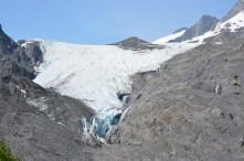 Worthington Glacier.