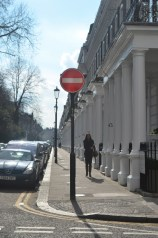 Typical South Ken street.
