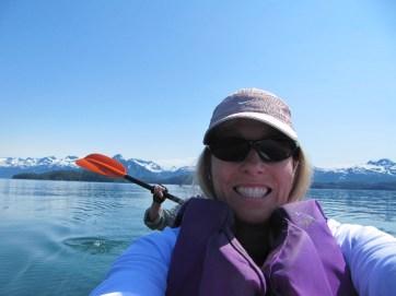Sea Kayak Selfie.