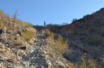 Long Uphill Climb