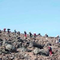 Day 11: Lava Tower to Arrow Glacier Camp