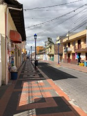 Beautiful tiled streets.
