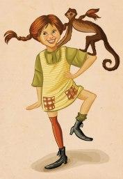Caderneta de Cromos - Pippi das Meias Altas