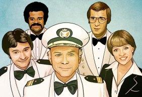 Caderneta de Cromos Contra Ataca - The Love Boat