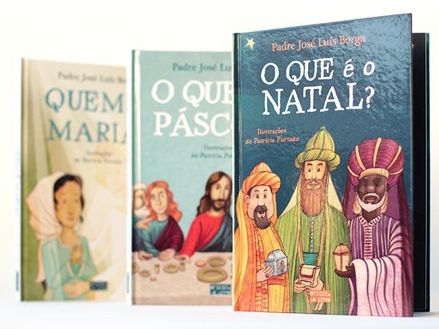 """""""O que é o Natal?"""", """"O que é a Páscoa?"""" and """"Quem é Maria?"""""""