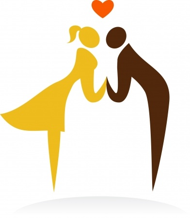 kissing couple vector 6900191_s
