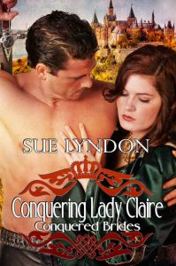 cover: conquering lady claire - sue lyndon
