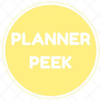 Planner Peek | My Dandelion Dreams