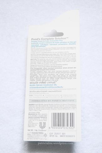 [Review] Pond's Pimple Cover & Care Concealer Pen | My Dandelion Dreams