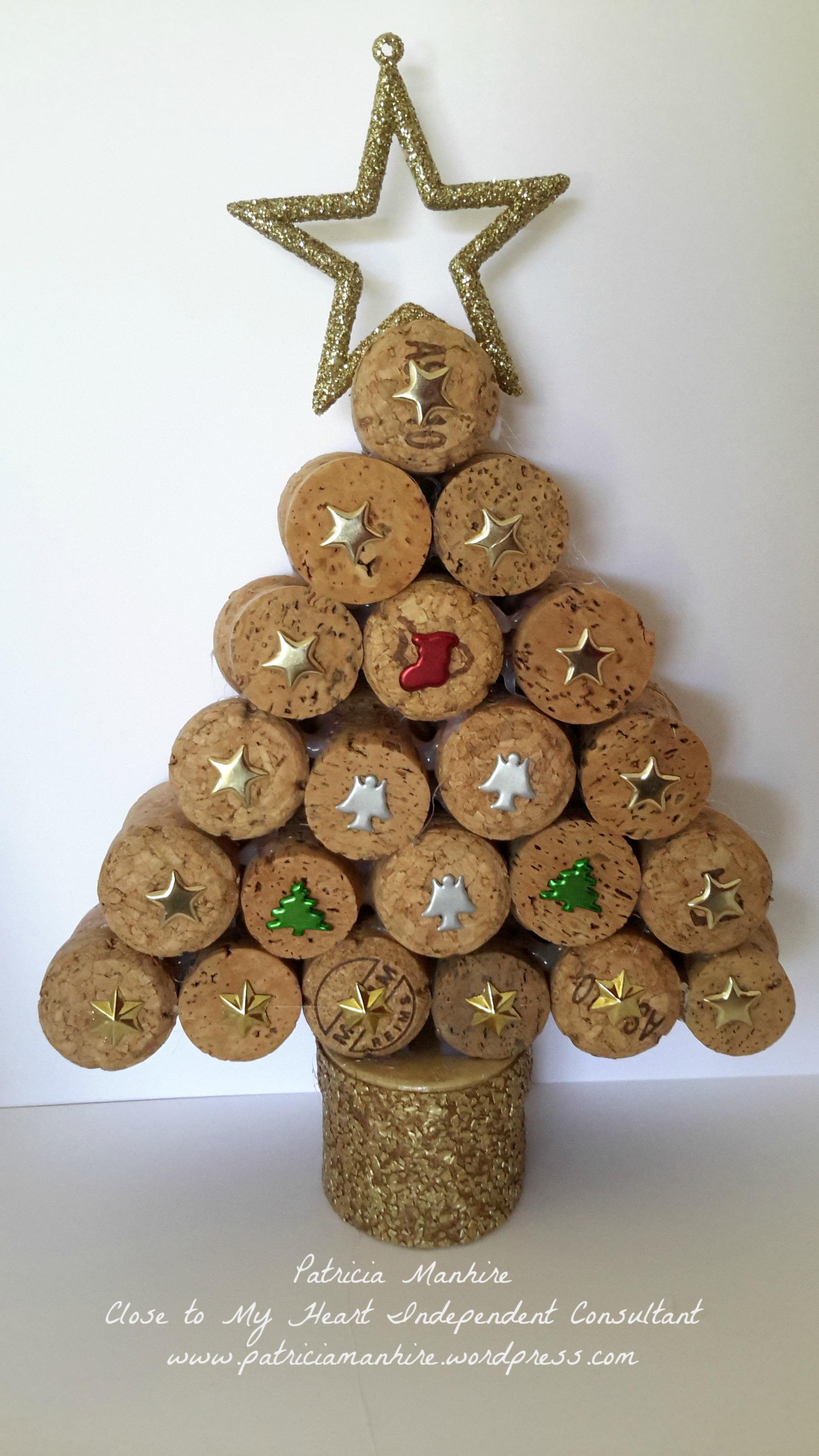 Sustainable Christmas Tree With CTMH Patriciamanhire