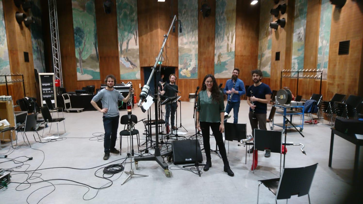Patricia Moreno - the Jazz Singer with WB4 live on air at Radio Kulturhaus Vienna