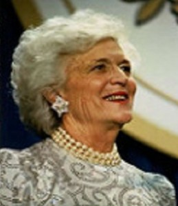 photo of Barbara Bush