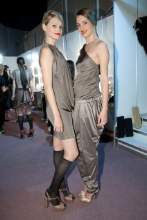 Backstage fashion show Cyprus