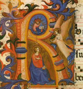 Beato_angelico,_anunciazione_c._33v,_messale_558,_1430_circa,_san_marco,_firenze