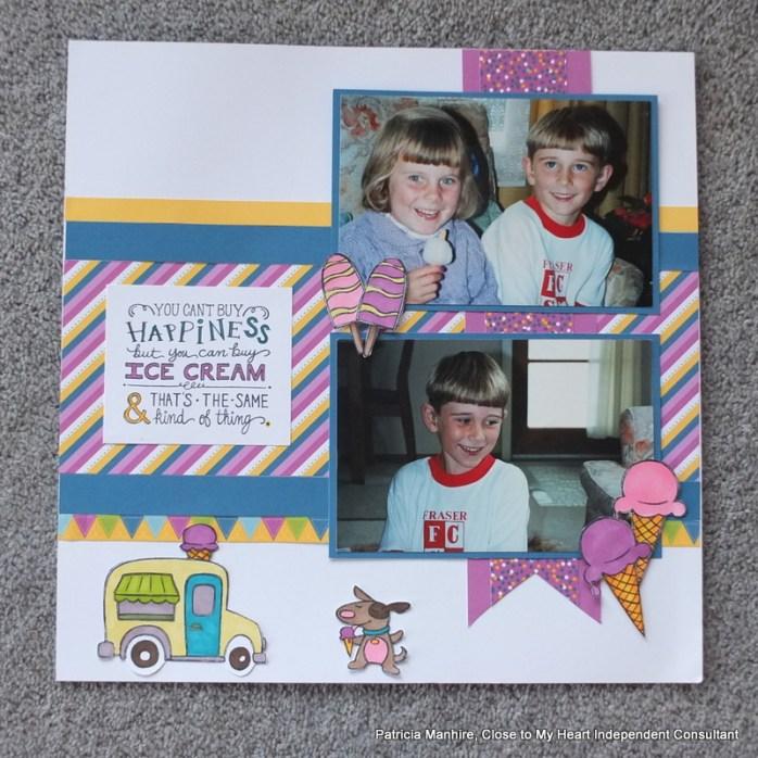 #CTMH June SOTM - Ice Cream Dream