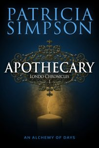 Cover of Apothecary by Patricia Simpson.