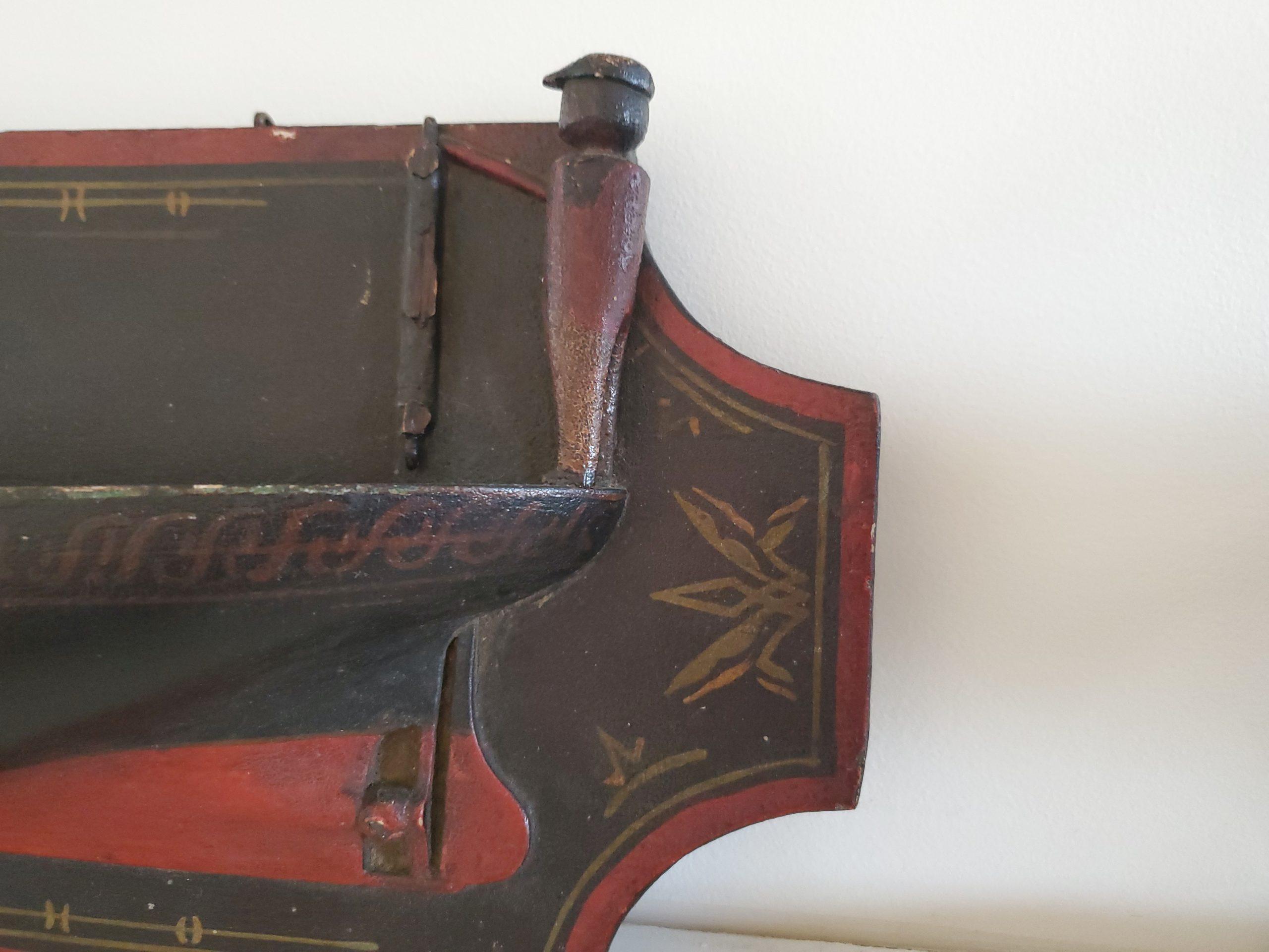 close up of ship design