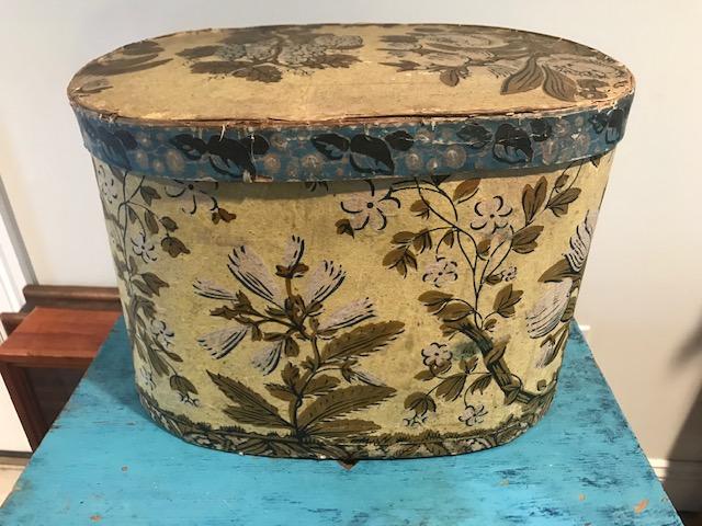 Yellow Hat Box $425