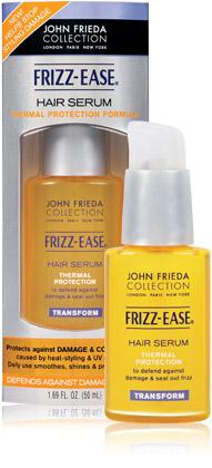 hair serum thermal protection formula - Eu Uso - John Frieda - Serum - Ease Hair Serum Thermal Protection Formula