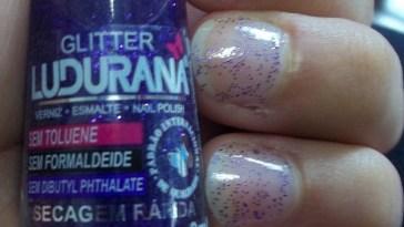 100 2779 - Esmalte ou Glitter roxo?!