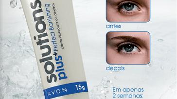 peq avon solutions banishing creme clareador olheiras mod - Guerra contra as Olheiras - Batalha Avon