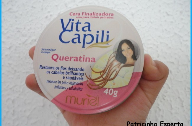 DSC09971 - Testei:  Cera finalizadora Vita Capili - Muriel