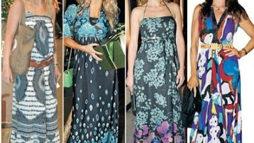 vestidos longos estampados da moda - Moda Verão 2012