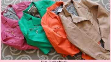 """coloridas1 - Jaquetas de material ecológico - porque """"couro"""" ecológico não existe!"""