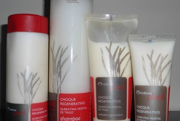 DSC001901 - Testando Natura Plant Choque Regenerativo - Shampoo e Creme Prolongador