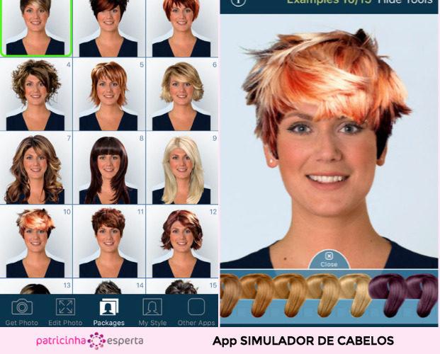 Hairstyle Try On App 621x500 - Simulador de Cabelo: Corte e Cor