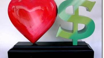 amor dinheiro - Dinheiro x Relacionamento