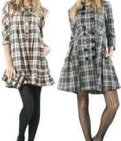 vestidos xadrez feminina 411 176x300 - Vestido com meia-calça?