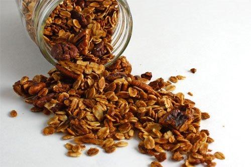 granolsa - Receita de granola caseira