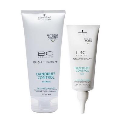 Schwarzkopf Bc Bonacure Scalp Therapy Kit Dandruff Control Anticaspa Shampoo 200ml e Tonico 100ml  - Tudo Sobre Caspa no Cabelo