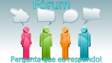 forum 002 - Fórum na Fan Page Para Responder TODAS as Suas Dúvidas!