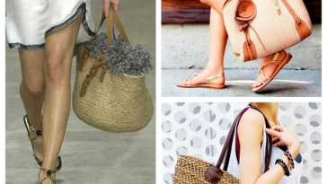 Bolsas de praia - Moda: bolsas para ambientes de praia ou piscina