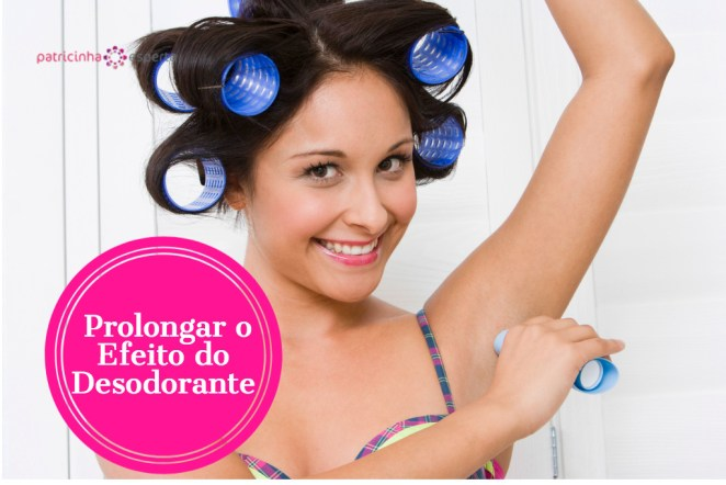 smiling woman using deodorant picture id520078181 - Como Prolongar o Efeito do Desodorante?