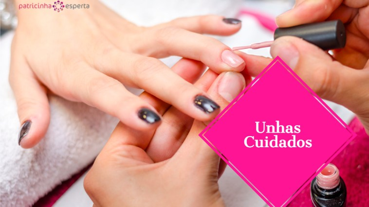 woman applying pink nail polish picture id629589678 - Unhas: Como Cuidar?