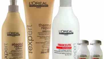 fiberceutic finos absolut repair 500 - Ritual De Reconstrução Cabelos Finos Com Química - L'oréal