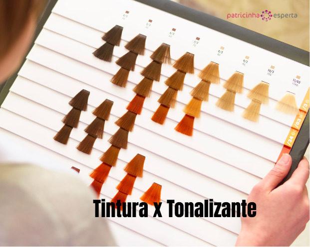 female hand hair color chart picture id821565872 621x500 - Tintura x Tonalizante - Qual a diferença?