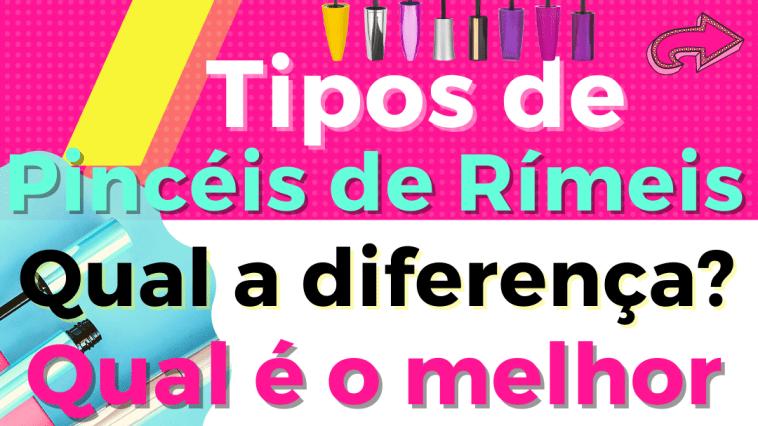 Insta - Pincéis De Rímeis: Quais São As Diferenças? Qual O Melhor?