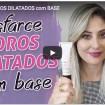 poros - Como disfarçar os poros com base - Tudo em vídeo