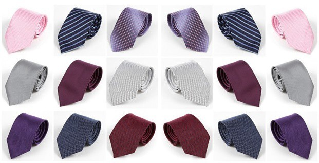 Novo Fanshion chegada dos homens vestido Formal ternos gravatas gravatas de casamento vermelho Bridgroom masculino trabalho - Tudo boyfriend - Nova Moda