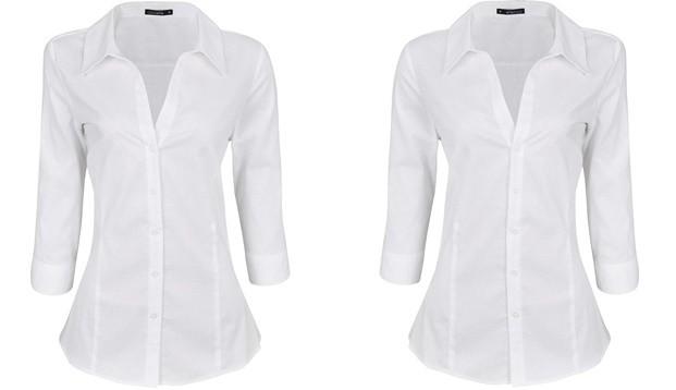 camisa branca renner - Look de trabalho - 6 Peças incríveis!