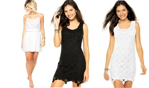 dafiti joy vestido dafiti joy guipir off white 5086 2726871 4 zoom - Renda Guipir - Monte seu Look