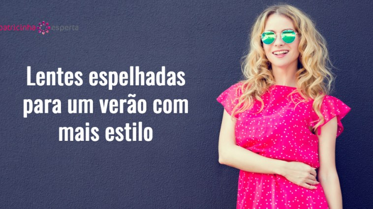 summer fashion woman in pink dress at dark wall picture id617398292 - Lentes espelhadas para óculos de sol [Verão 2018]