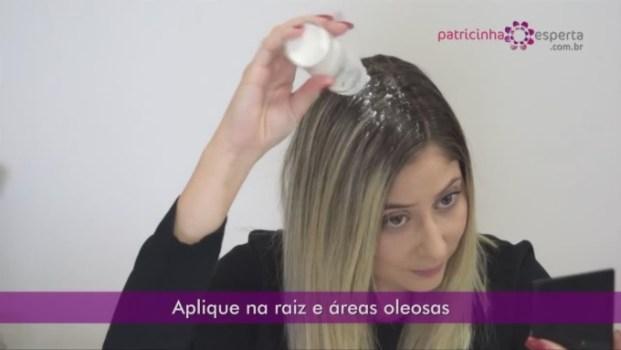 Shampoo Seco Caseiro