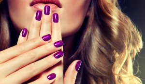 Luxury fashion style, manicure, cosmetics and make-up, hair